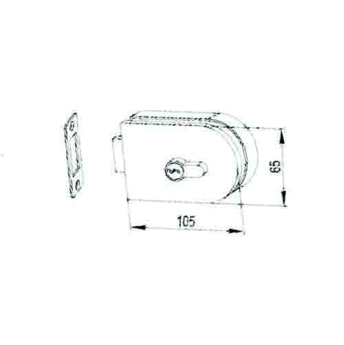 KMS21110 Glass Door Lock(BS205)