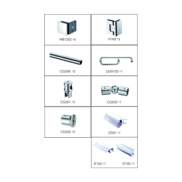 WPK220C3- Shower Cubicle System