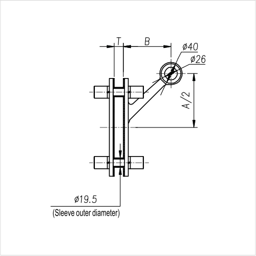 Spider Fittings - L200A12